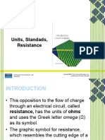 Lecture 1 3 Units Standards Resistance