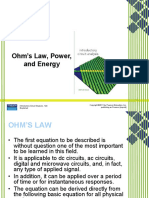 Lecture 1 3 Ohms Law Power Energy