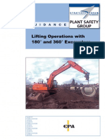 Guidance on Lifting With Excavators