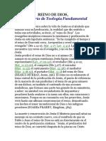 REINO de DIOS, Diccionario de Teología Fundamental