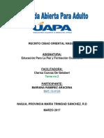 II Tarea de Educacion Para La Paz