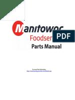 MANITOWOC S1470C Parts Manual