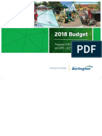 Proposed 2018 Capital Budget Book