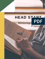head start proposal