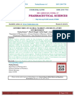 GENERIC DRUG IN GLOBAL MARKET AND REGULATORY ENVIRONMENT