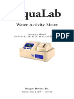 AquaLab Manual