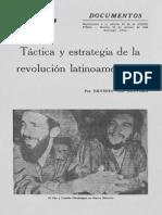 Táctica y estrategia de la revolución latinoamericana