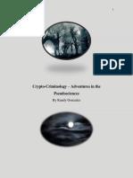 Crypto-Criminology Adventures in the Pseudosciences