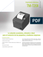 Folleto Epson TM-T20II