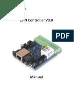 Manual LAN Controller V30 LANKON-008 En