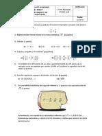 Examen T1. Números Racionales