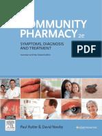 Community Pharmacy; Symptoms, Diagnosis and Treatment