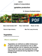 Vegetables Production