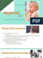 disease voicethread  measles