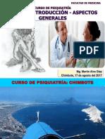 Psiquiatría Clase 1 Introducción Usp 17-08-2017 Sem 1