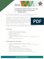 Desarrollo Applets Aplicaciones Uso Base Datos Redes Servlets Multimedia