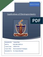 Electrogravimetry Pdf