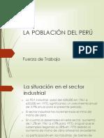 La Población Del Perú_fuerza de Trabajo