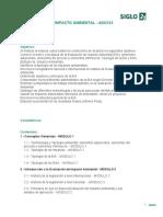 Programa de Evaluacion de Impacto Ambiental