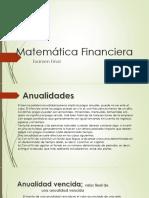 Matemática Financiera Gg