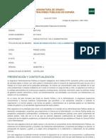 Guía Administraciones Públicas en España_ Uned 2017