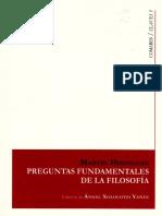 Martin Heidegger-Preguntas fundamentales de la filosofia.pdf
