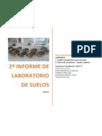 Informe 2 de Lab de Suelos i