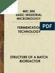 Lect 2 Fermentation Technology