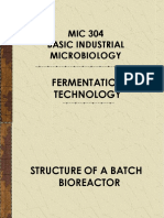 Lect 2 Fermentation Technology
