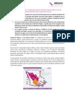 la disparidad regional en México continúa siendo uno de los principales obstáculos para el desarrollo nacional