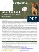 Reliance Small Cap Fund Flyer