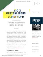 How to Use Custom Icons on Ionic 3 – Yann Braga
