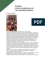 Cappelletti - Ambrosio y Teodosio