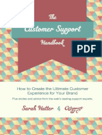 The Customer Support Handbook How to Create the Ul