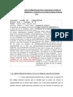 Doctrina Diferencias CPCCN y Otros