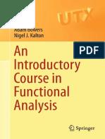 Functional Analysis Kalton
