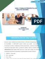 Presentación de Caso Clinico Geriatria