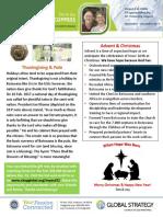 Newsletter Coppesses November December 2017