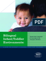 Bilingual Infant Toddler Environments