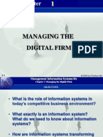 CH1 Managing the Digital Firm