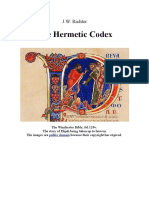 J. W. Richter - The Hermetic Codex