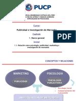 Curso Publicidad e Investigación de Mercados 2016-2 - Capitulo 1 - Marco General