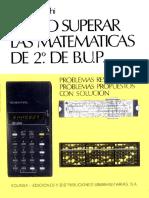 Cómo Superar Las Matemáticas de 2º de B.U.P.