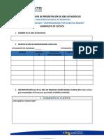 Formato Guía Present Idea de Negocios