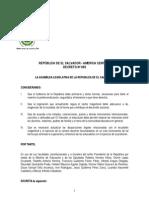 Ley de La Carrera Docente El Salvador