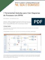 7 Ferramentas Gratuitas para Criar Diagramas de Processos com BPMN  Blog da iProcess.pdf