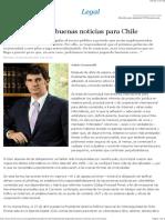 Ciberseguridad, buenas noticias para Chile - EML