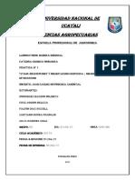 informe quimiac