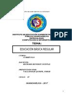 Educacion Basica Regular Monografia Pedagogico