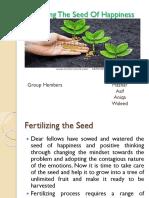 Fertilizing the Seed